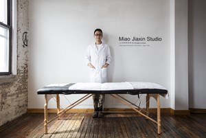 Massage Therapist in Brooklyn by Jiaxin Miao contemporary artwork