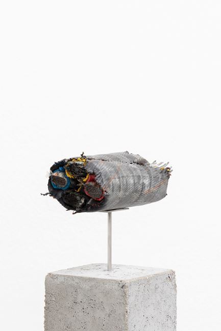 Brief Syllable (Wrecked) by Nina Canell contemporary artwork