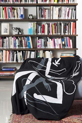 Nolan Oswald Dennis, Radical(empathy) (2019). 100% cotton blanket. Courtesy Goodman Gallery.