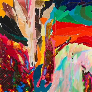 After De Kooning No.12 by Seoul Kim contemporary artwork painting