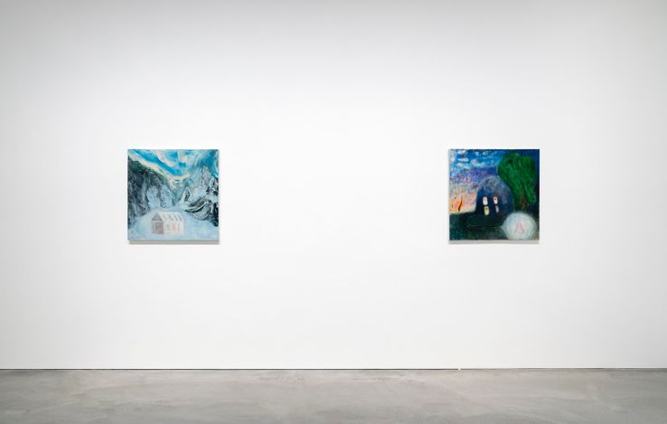 Exhibition view: Group Exhibition, Signs, Pace Gallery, Hong Kong (4 March–24 April 2021). Courtesy Pace Gallery.