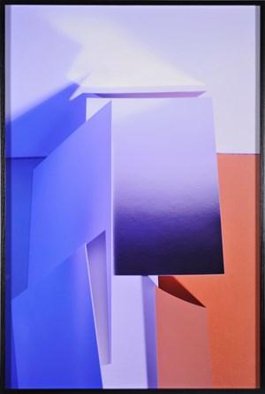 Blue Haze by Lydia Wegner contemporary artwork