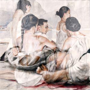 Los Distraídos III / Dreaming Global by Sandra del Pilar contemporary artwork