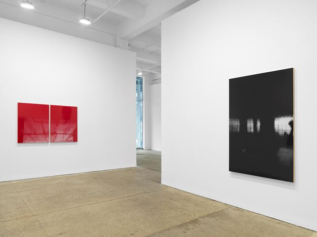 Exhibition view: Kate Shepherd, Surveillance, Galerie Lelong & Co., New York (12 March–30 July 2020). Courtesy Galerie Lelong & Co., New York.