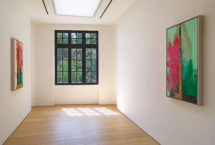 Exhibition view:Sterling Ruby, THAT MY NAILS CAN REACH UNTO THINE EYES, Gagosian, Athens (13 May–31 July 2021). © Sterling Ruby. Courtesy Gagosian.Photo: Boris Kirpotin.