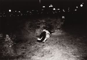 Untitled (From the series The Park) by Kohei Yoshiyuki contemporary artwork