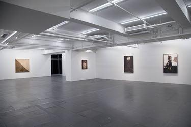 Manolo Millares, Cuadro 64 (3), 1959. Mixed media on burlap. 131 x 162.6 cm. Courtesy de Sarthe Gallery, Hong Kong.