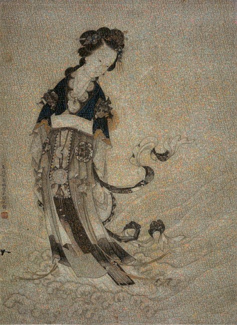 The Beauty No.2 by Guo Jian contemporary artwork