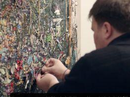 In the studio with Los Angeles artist Elliott Hundley 엘리엇 브로드