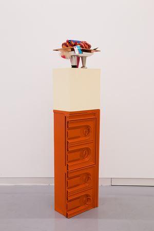 Superior Strength Stack by Jessica Stockholder contemporary artwork