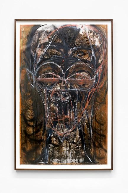 Untitled by Huma Bhabha contemporary artwork