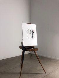 Joie de vivre by Bernardí Roig contemporary artwork works on paper, drawing, mixed media, moving image