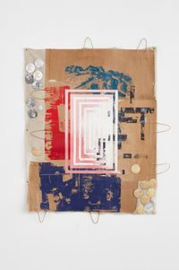 TBC by Tomashi Jackson contemporary artwork mixed media