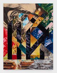 Off the Pavement, Off We Go! by Tadanori Yokoo contemporary artwork painting