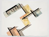 Study for Planar Configuration Variant #10 by Andrea Zittel contemporary artwork painting