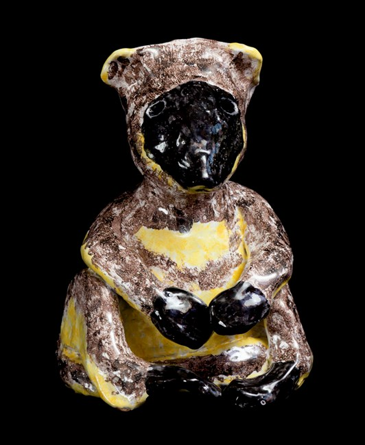 Maquette for Lumholtz's Tree Kangaroo by Peter Cooley contemporary artwork