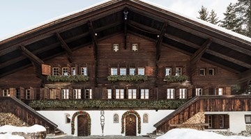 Hauser & Wirth contemporary art gallery in Gstaad, Switzerland