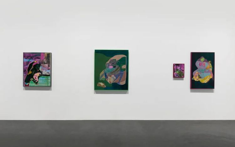 Exhibition view: Eva Zhang, Roarrrrr,Tabula Rasa Gallery, Beijing (23 April–6 June 2021).Courtesy Tabula Rasa Gallery.