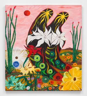 Butterfly #11 Ocotillo Song by Daniel Gibson contemporary artwork