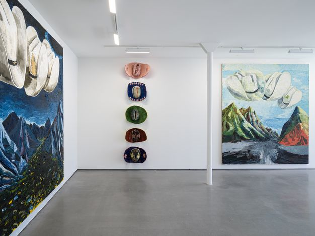 Exhibition view: Ken Taylor, Mountains and Roses, Simchowitz, Los Angeles (6 March–10 April 2021). Courtesy Simchowitz.