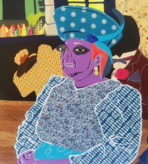 Church Mudda by Cynde Jasmin Coleby contemporary artwork