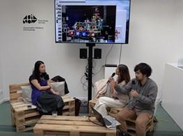 ASIA NOW 2018 || Teppei Kaneuji (artist) & Reiko Tsubaki (Curator at the Mori Art Museum, Tokyo)