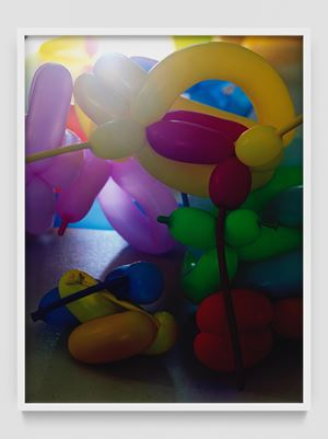 Backlit Balloons by Torbjørn Rødland contemporary artwork photography