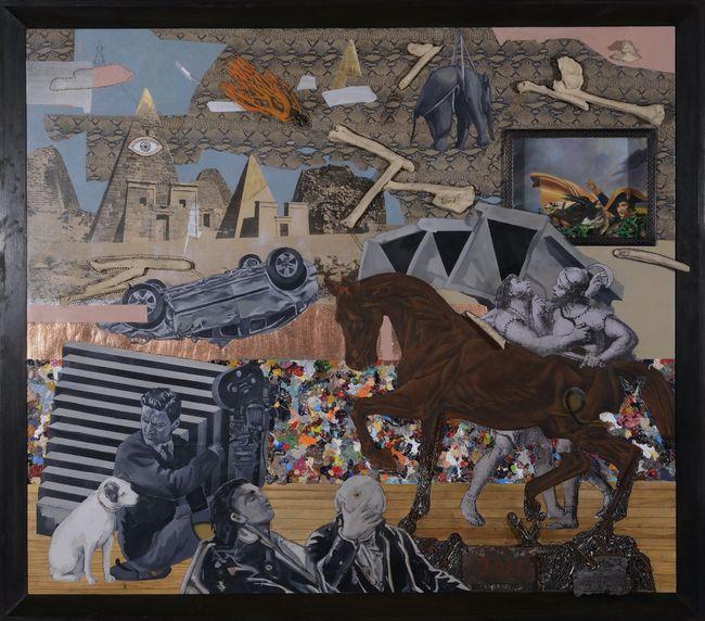 Behind the Scenes of 'End of Civilization #7' by Kawayan de Guia contemporary artwork
