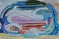 Rainbow 2021-2 by Etsu Egami contemporary artwork painting