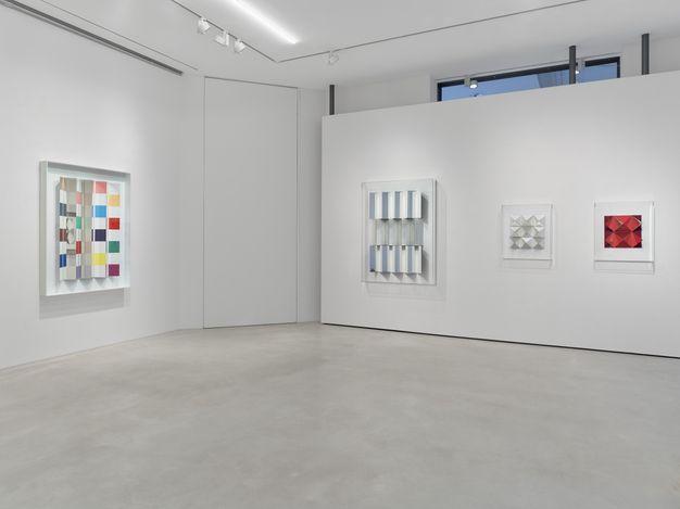 Exhibition view: Christian Megert,New Works, SETAREH, Düsseldorf (10 October–14 November 2020). CourtesySETAREH.