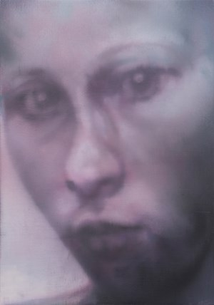 Untitled (portait young woman) by Johannes Kahrs contemporary artwork