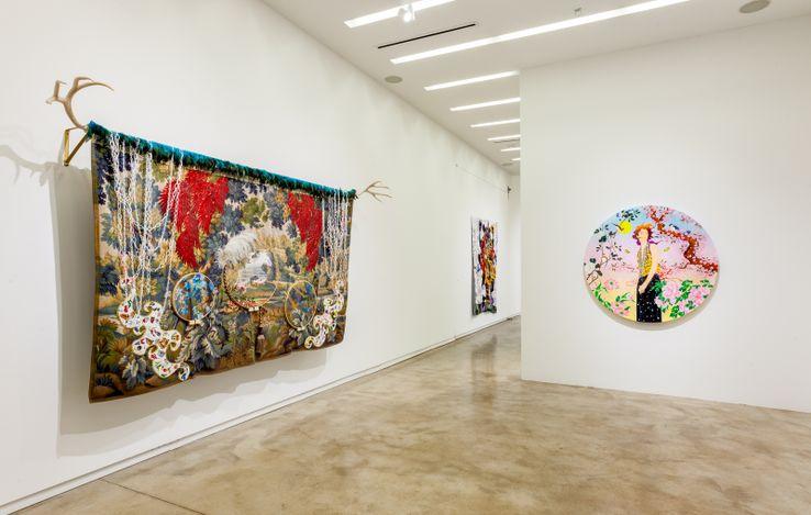 Exhibition view: Group Exhibition, Realms of Refuge, Kavi Gupta, Elizabeth Street, Chicago (10 July–30 October 2021). Courtesy Kavi Gupta.