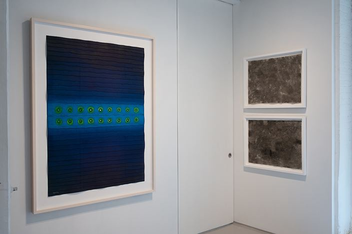 Exhibition view: Group Exhibition, Alterations Activation Abstraction,Sundaram Tagore Gallery, Chelsea, New York (28 February–30 March 2019). Courtesy Sundaram Tagore Gallery.