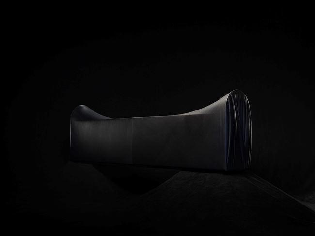 Saddle Bench by Johnny Nargoodah & Trent Jansen contemporary artwork