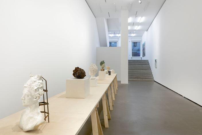 Exhibition view: Melora Kuhn,Odes To Relics,Galerie EIGEN + ART, Berlin (17 January–16 February 2019). Galerie EIGEN + ART, Berlin. Photo: Uwe Walter.