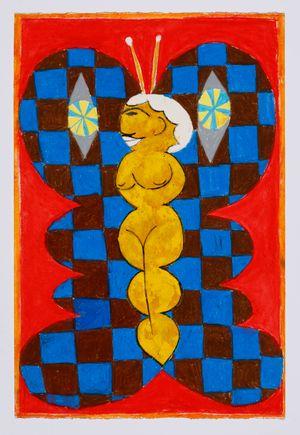 Untitled (moth) #19 by Brendan Huntley contemporary artwork