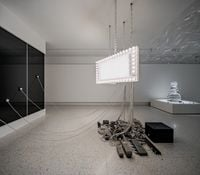 Marquee by Philippe Parreno contemporary artwork sculpture, installation, mixed media