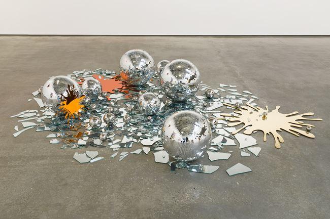Ash by John M Armleder contemporary artwork