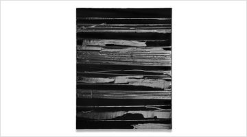 Contemporary art exhibition, Pierre Soulages, Twenty Twenty-One at Lévy Gorvy, Palm Beach