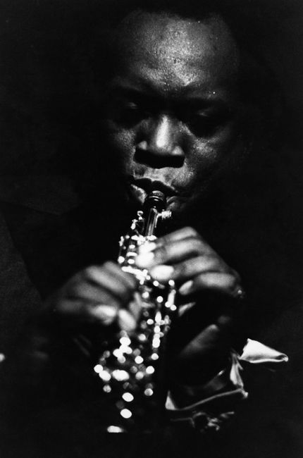 King Curtis at the Apollo, Harlem, New York by Chester Higgins contemporary artwork