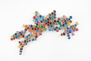 Inner Glow by Jim Lambie contemporary artwork