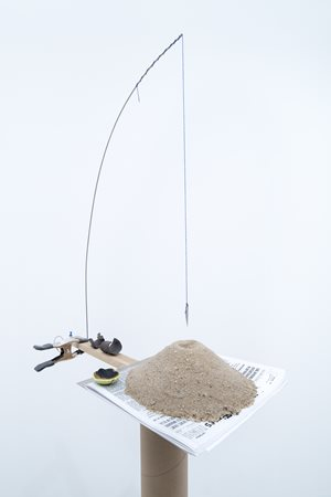 Model for a Double Entendre by Sarah Sze contemporary artwork