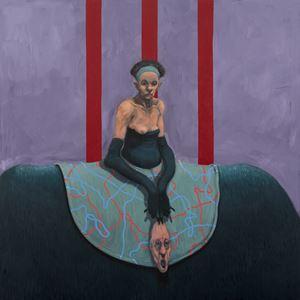 Loose Skin by Michael Kvium contemporary artwork