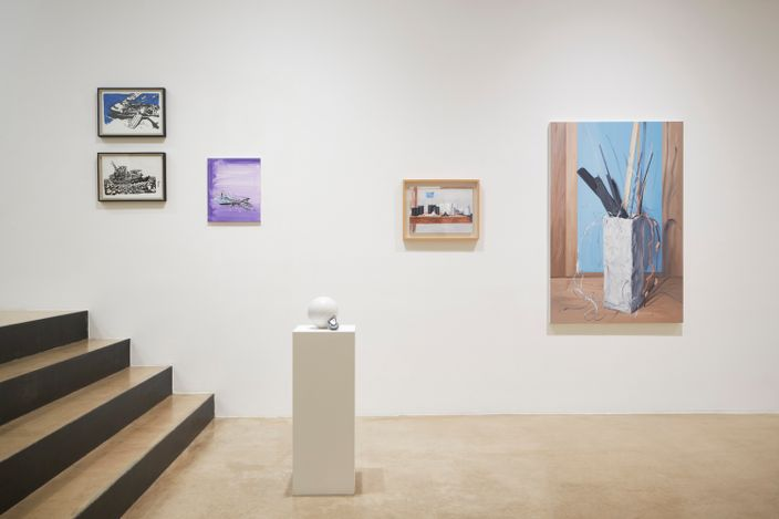 """Exhibition view: Group Exhibition,""""1+1"""" A Collector's View, ONE AND J. Gallery, Seoul (2 September–3 October 2021). Courtesy ONE AND J. Gallery."""