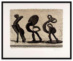 Lexicon (Promenade) by William Kentridge contemporary artwork