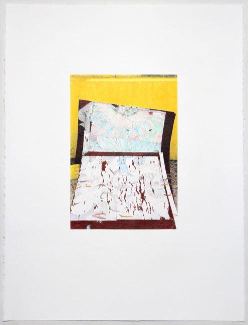 Shoegazer (slumped) by Andrew Browne contemporary artwork
