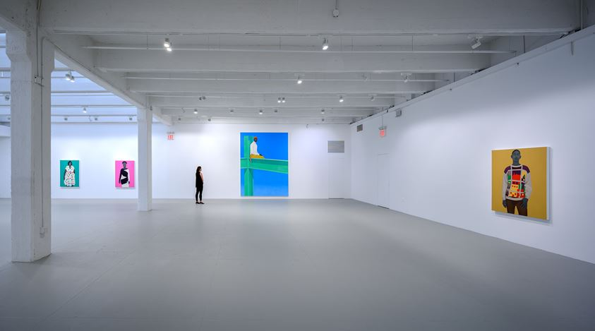 Exhibition view: Amy Sherald, the heart of the matter…, Hauser & Wirth, 22nd Street,New York (10 September–26 October 2019). ©Amy Sherald. Courtesy the artist and Hauser & Wirth. Photo: Joseph Hyde.