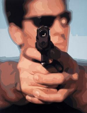 Shooter by Christopher Langton contemporary artwork