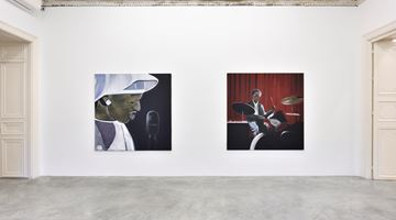Contemporary art exhibition, Madelynn Green, Birth of a Star at Almine Rech, Rue de Turenne, Paris