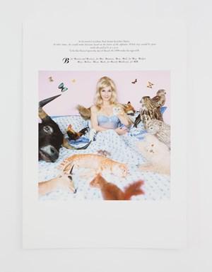 Des journees entieres sous le signe du B, du C, du W (EN) * by Sophie Calle contemporary artwork